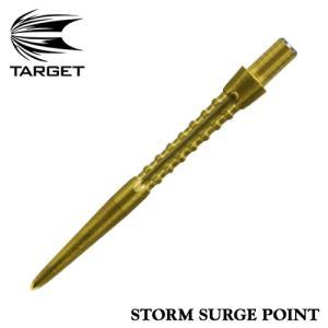 ダーツ ターゲット TARGET STORM SURGE POINT GOLD 30mm ストーム サージポイント ゴールド(ポスト便OK/2トリ) dartsshoptito