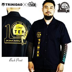 TRiNiDAD Gomez10 発売記念 トリニダード オープンカラーシャツ 山田 勇樹 ゴメス|dartsshoptito