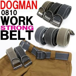 DOGMAN 0810  ワークベルト  ■サイズ 全長110cm、幅4.5cm  ■素材 本体:ポ...