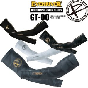 【送料無料】イーブンリバー アームカバー EVENRIVER GT-00 アイスコンプレッション【UVカット】【接触冷感】|darumashouten
