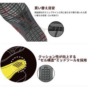 ミズノ 安全靴 防水 C1GA1800 紐タイプ オールマイティ ローカット MIZUNO スポーツ系 スニーカータイプ セーフティーシューズ JSAA規格A種|darumashouten|04
