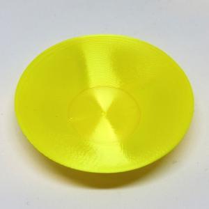3Dデザイン豆皿 小皿 シルキーに輝くかる〜い豆皿 (らせん 3D 印刷で造形,直径 7 cm)|dasyn