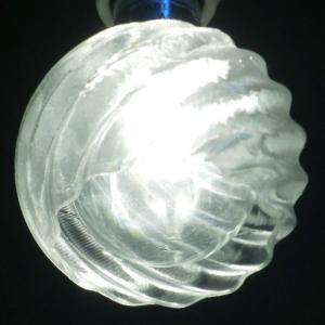 3Dデザイン ランプシェード 3D 印刷 LED 器具用小形シェード 交換用 (変形球形, タイプ 13)|dasyn