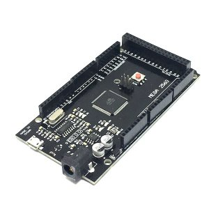 Arduino Mega 2560 Rev. 3 同等品 (ATmega2560-16AU CH340G) Micro USB 版 (3D プリンタ制御用,3D 印刷用)