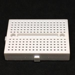 ブレッドボード 小型 4.5×3.5 cm 白色|dasyn
