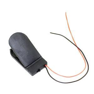ボタン電池ケース CR2032 2 個 6 V 用 スイッチつき 薄型|dasyn