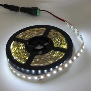 LEDテープライト 単密度 5050 高輝度 白色 (昼光色) 12 V (5 cm 0.7 W 単位 切り売り,非防水)|dasyn