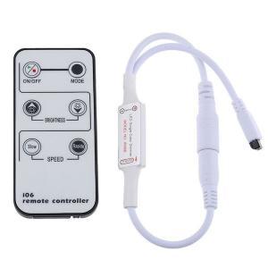 リモコン 調光器  単色 LED 照明器具 on/off と明るさ調整のための赤外線式 6 キー・リモコン (直流 DC 12 V テープライト用調光スイッチ)|dasyn