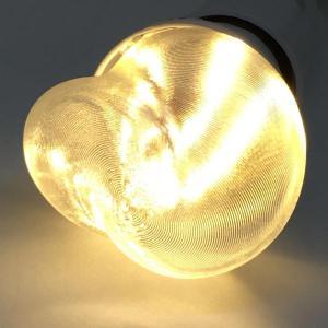 LED電球 おしゃれ 3D デザイン電球 (大波模様つき,直径 5 cm 2 W 電球色 口金 E26  LED 照明,白熱灯 15 W 相当 店舗・イベントにも)|dasyn