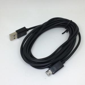 USB ケーブル USB 電源器具工作などにつかえる ケーブル 3 m (PlayStation 4 用充電ケーブル) 黒色|dasyn