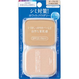 アクアレーベル ホワイトパウダリー オークル10 (レフィル) 11.5g|date-yakkyoku