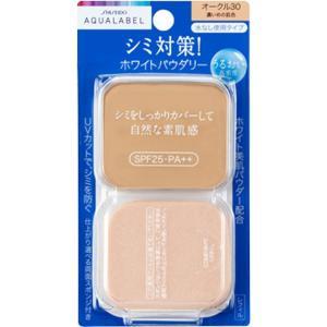 アクアレーベル ホワイトパウダリー オークル30 (レフィル) 11.5g|date-yakkyoku