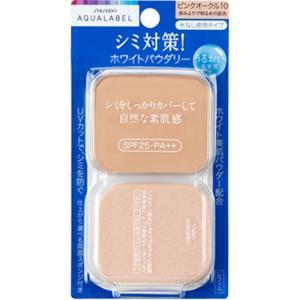 アクアレーベル ホワイトパウダリー ピンクオークル10 (レフィル) 11.5g|date-yakkyoku
