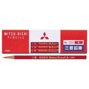 色鉛筆 K2351 朱通し 12本入|date-yakkyoku