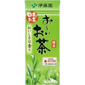 おーいお茶 テトラパック 250ml/24本|date-yakkyoku