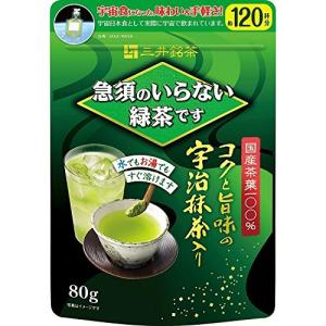 急須のいらない緑茶 80g 袋入 77212|date-yakkyoku