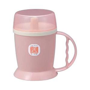 吸い口付マグカップ  HS-N12 ピンク|date-yakkyoku
