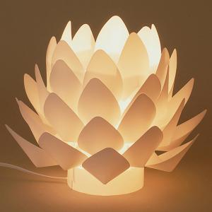 カメヤマローソク 間接照明 盆提灯 Origami-lite 蓮花 S date