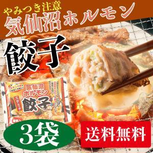 からくわ精肉店 気仙沼ホルモン餃子 3袋セット(1袋8個入×3) 送料無料|date