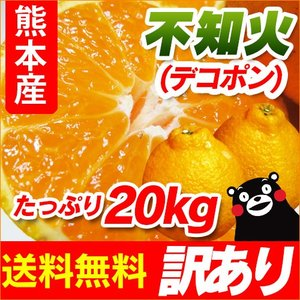熊本産 訳あり 不知火( デコポン と同品種 ) 20kg ...