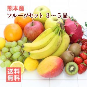 熊本の旬の果物と野菜のどちらも楽しめるセットです。 果物好きな方への贈り物としてもおすすめです。 ク...