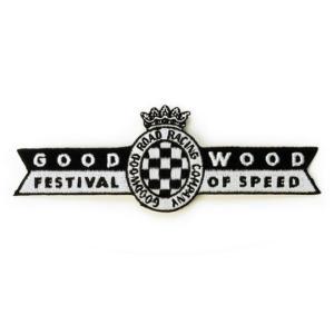 ワッペン、グッドウッド、フェスティバルオブスピード、135 x 48mm|davidstore