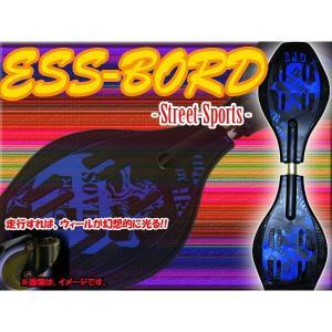 エスボード 7302 ジェイボード ESS ボード Sボード ドクロ柄 スポーツ 専用ケース付き