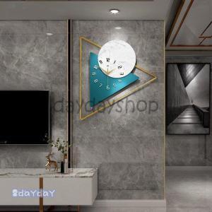 壁掛け時計 おしゃれ 文字盤 アナログ 時計 北欧 大きい 掛け時計 新築祝い 新発売 ウォールクロ...