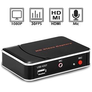 Y&H HDゲームキャプチャー HDMI ビデオキャプチャーデバイス USBデバイスに直接保存 実況音声の追加や編集 1080Pゲ|days-of-magic