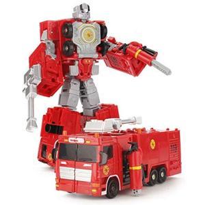 全5種 変身 合体 ロボット カー【タイプレスキュー】消防 車両 変形 ミニカー メカ ロボ 機械 子供 おもちゃ days-of-magic