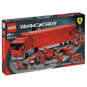 レゴ (LEGO) スクーデリア フェラーリ F1トランスポーター 8654|days-of-magic