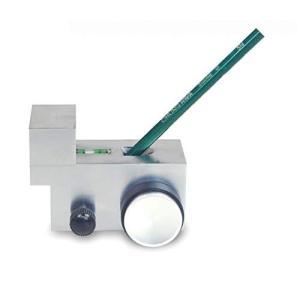 フェリモア 鉛筆 硬度 試験機 鉛筆硬度試験器 硬度測定 鉛筆引っ掻き試験 走行 水平 水準器付き (シルバー)|days-of-magic