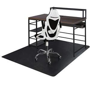 デスクごとチェアマット ゲーミングチェアマット ダイニングマット 床保護マット SALLOUS 特大サイズ160130cm PVC|days-of-magic