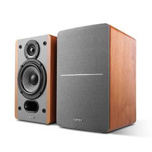Edifier P12 スピーカー 自然な音 アクティブ 中質繊維板使用 ブックシェルフスピーカー パワード 高音質 マウン|days-of-magic
