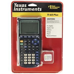 Texas Instruments TI-83 Plus Graphing Scientific Calculator 並行輸入品|days-of-magic