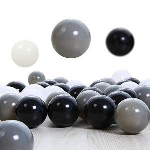 PlayMaty ボールプールアクセサリ 直径約5.5cm ボール100個 おしゃれボールプール用ボール 水遊び 玩具 ボールプー|days-of-magic