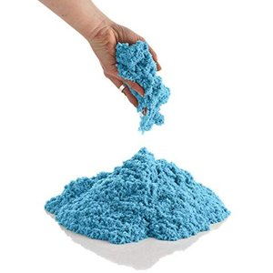 CoolSand 砂遊び 粘土遊び 家で遊べる 汚れない砂 ブルー 400g days-of-magic