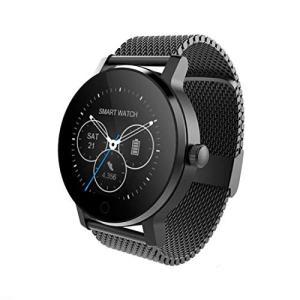 最新発売 日本語対応 文字化けなし SMAWATCH 最新スマートウォッチ 腕時計 多機能 1.22インチIPSフルビュータッチ|days-of-magic