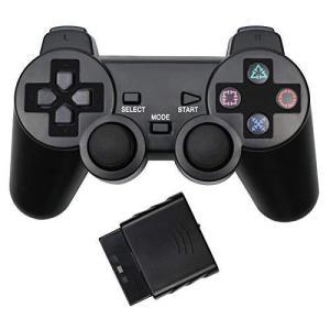 PS2はアナログコントローラーをサポートPS2コントローラーPS2ワイヤレスゲームコントローラーとレシーバー2.4G|days-of-magic