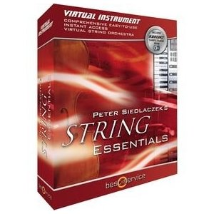 Best Service Peter Siedlaczek's String Essentials Virtual Instrument/レコーディング/音楽ソフト【並行輸入品】|days-of-magic