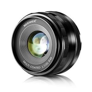 Neewer35mm f/1.7プライム固定レンズ。手動フォーカス。最大絞り:f/1.7。焦点距離:...