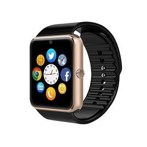 Colofan スマートウォッチ 多機能腕時計 SIMカード対応 カメラ付き 着信お知らせ 歩数計 アラーム時計 電話通知 SM|days-of-magic