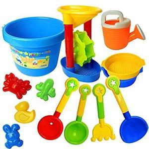 (フォクスン)FocuSun カラフルおでかけ砂場セット 砂遊び  おもちゃセット 水遊びおもちゃ 知育玩具 ( days-of-magic