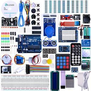 ELEGOO Arduino用のUNO R3 最終版スタータキット UNOチュートリアル付 (63 Items)|days-of-magic