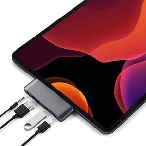 Satechi アルミニウム Type-C モバイル Proハブ USB-C PD充電 4K HDM...