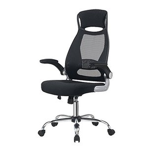 オフィスチェア メッシュ パソコンチェア ハイバック事務椅子 人間工学 ロッキング デスクチェア 肘付き 跳ね|days-of-magic