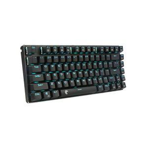 e元素ゲーミングキーボード メカニカル式キーボード USB接続有線青軸81キーアンチゴーストキー 青色LEDバックラ|days-of-magic