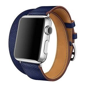 【WAfeel】Apple Watch アップルウォッチ通用バンド ウォッチ交換ベルト 本革レザー使用 全9色 新仕様 二重巻き型|days-of-magic