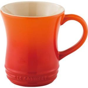 ルクルーゼ ストーンウェア マグカップ Sサイズ オレンジ 910072-01-O 電子レンジ・オーブン対応 |days