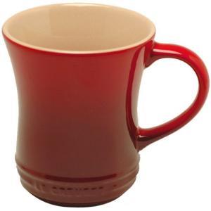 ルクルーゼ ストーンウェア マグカップ Sサイズ チェリーレッド 910072-01-CR 電子レンジ・オーブン対応 |days